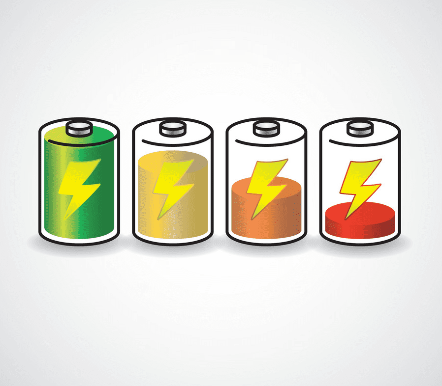 Batteries clipart free