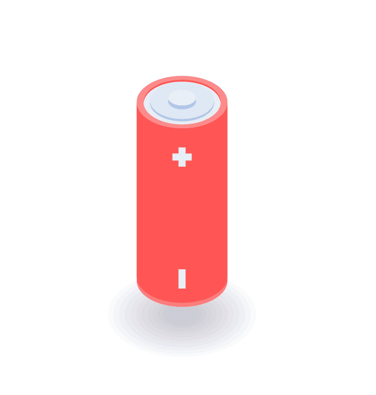 Battery clipart for kid