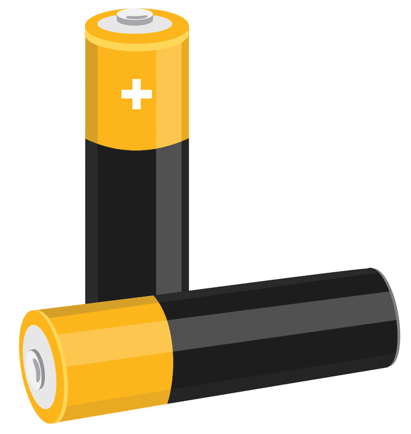 Battery clipart for kids