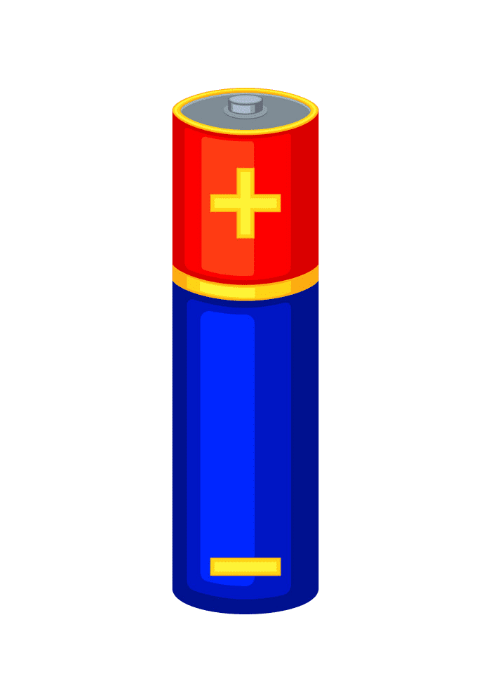 Battery clipart free for kid