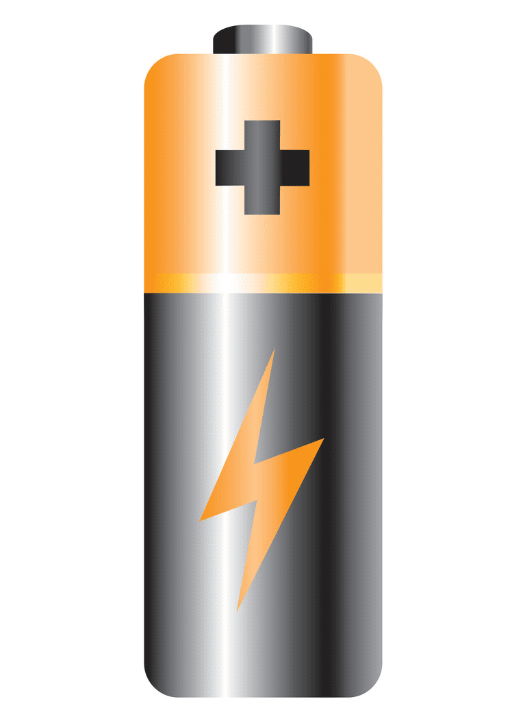 Battery clipart free picture