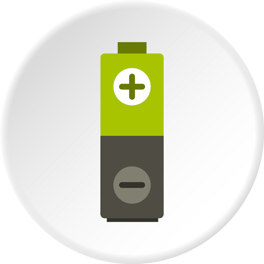 Battery clipart image