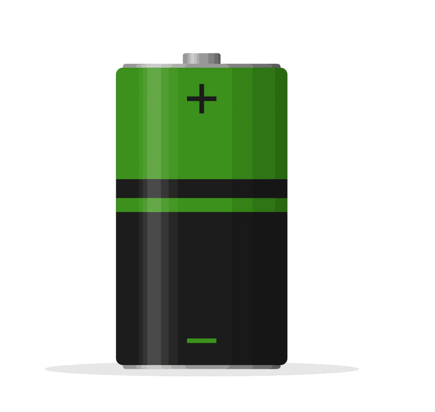 Battery clipart png for kid