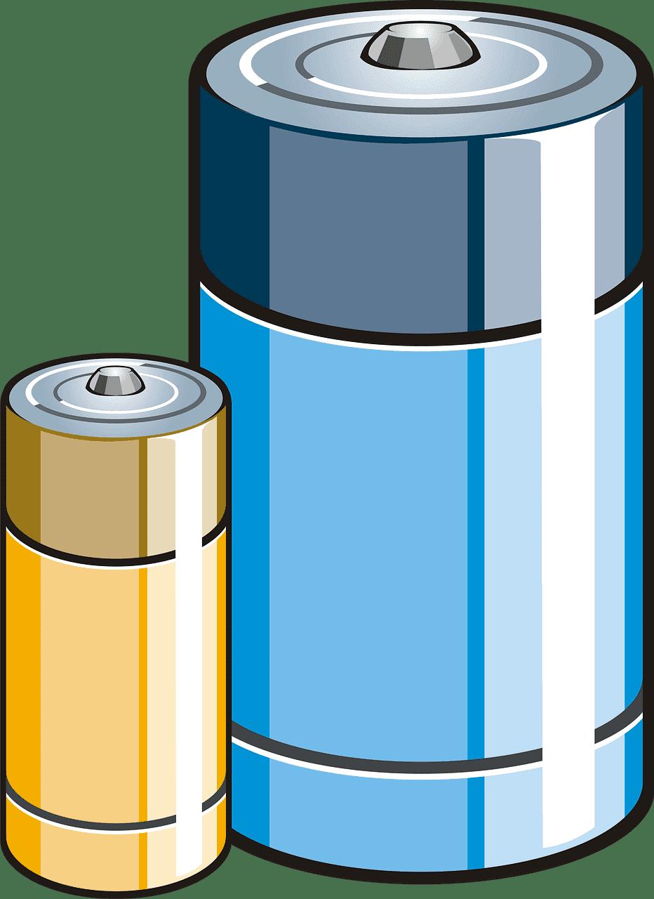 Battery clipart transparent 1