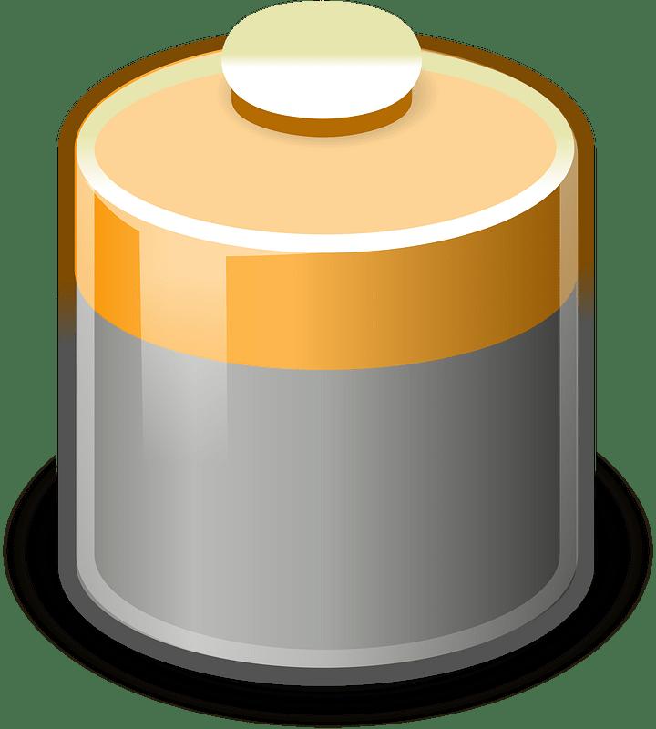Battery clipart transparent 11