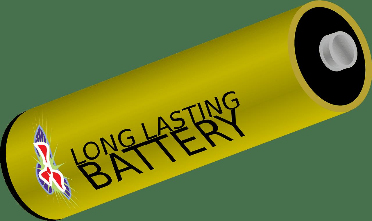 Battery clipart transparent 12