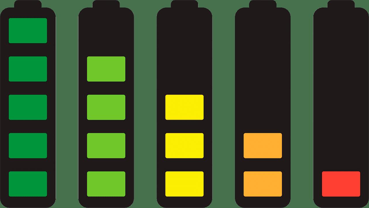 Battery clipart transparent 4