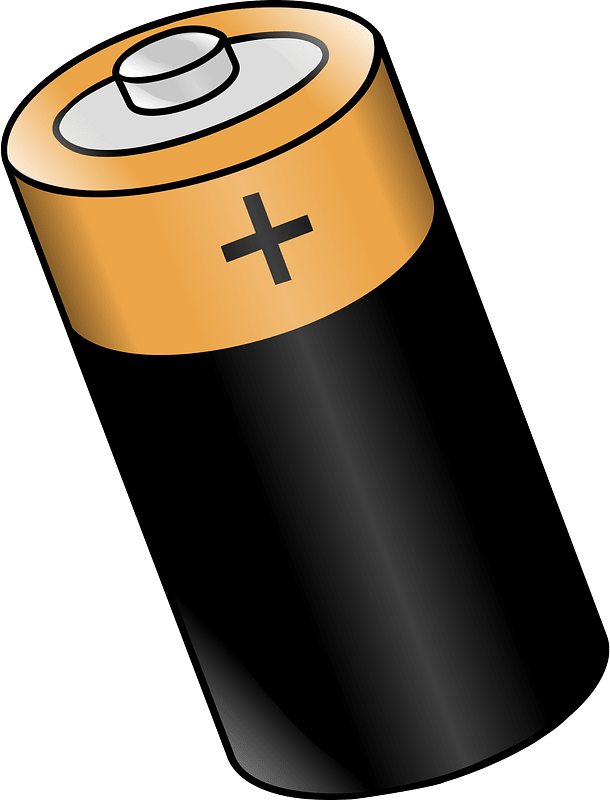 Battery clipart transparent 6