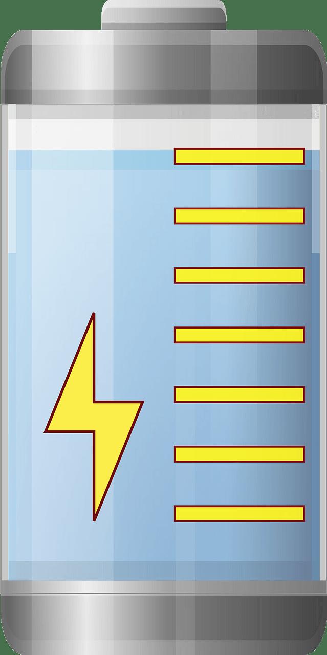 Battery clipart transparent 8