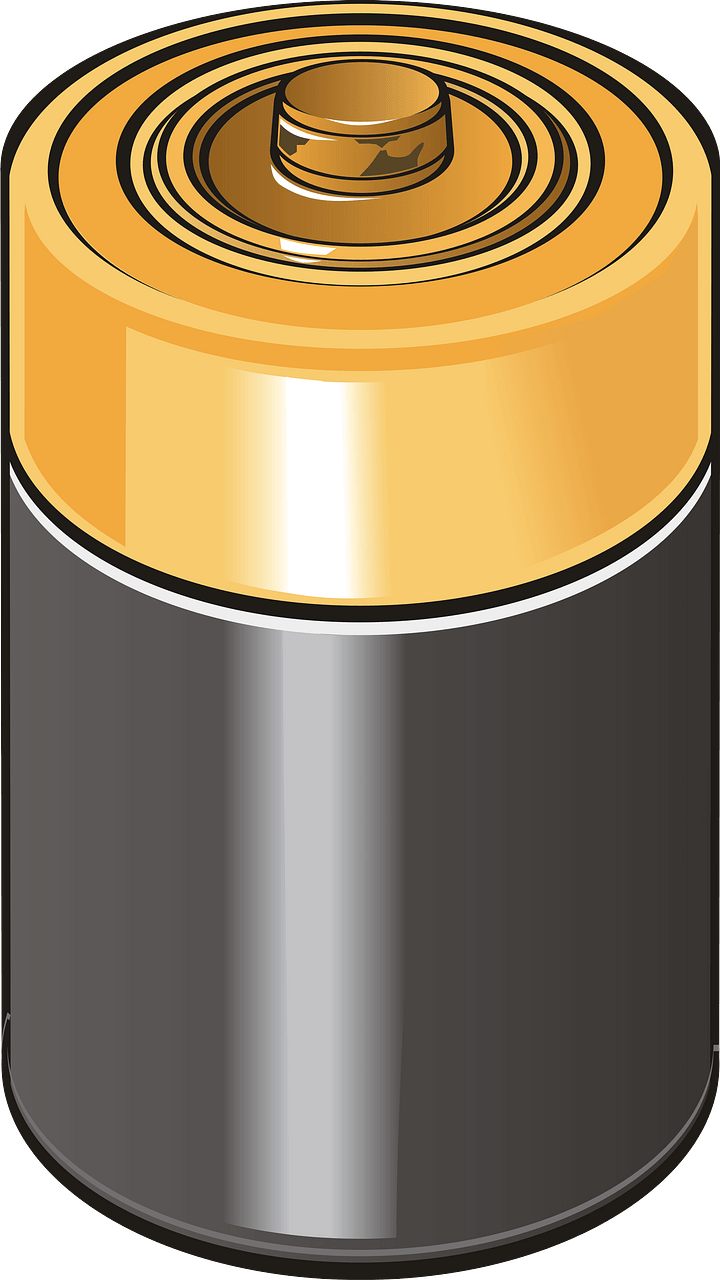 Battery clipart transparent for kids