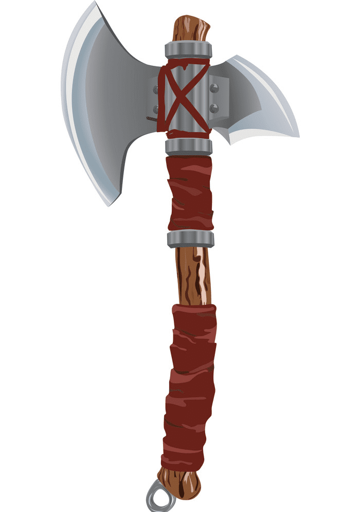 Battle Axe clipart for free