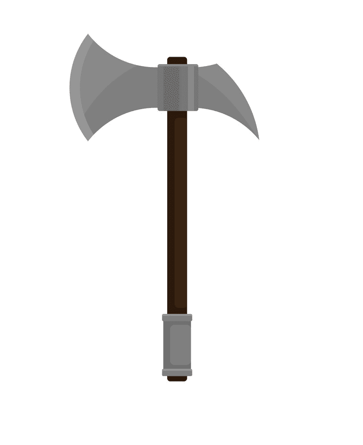Battle Axe clipart png for kid