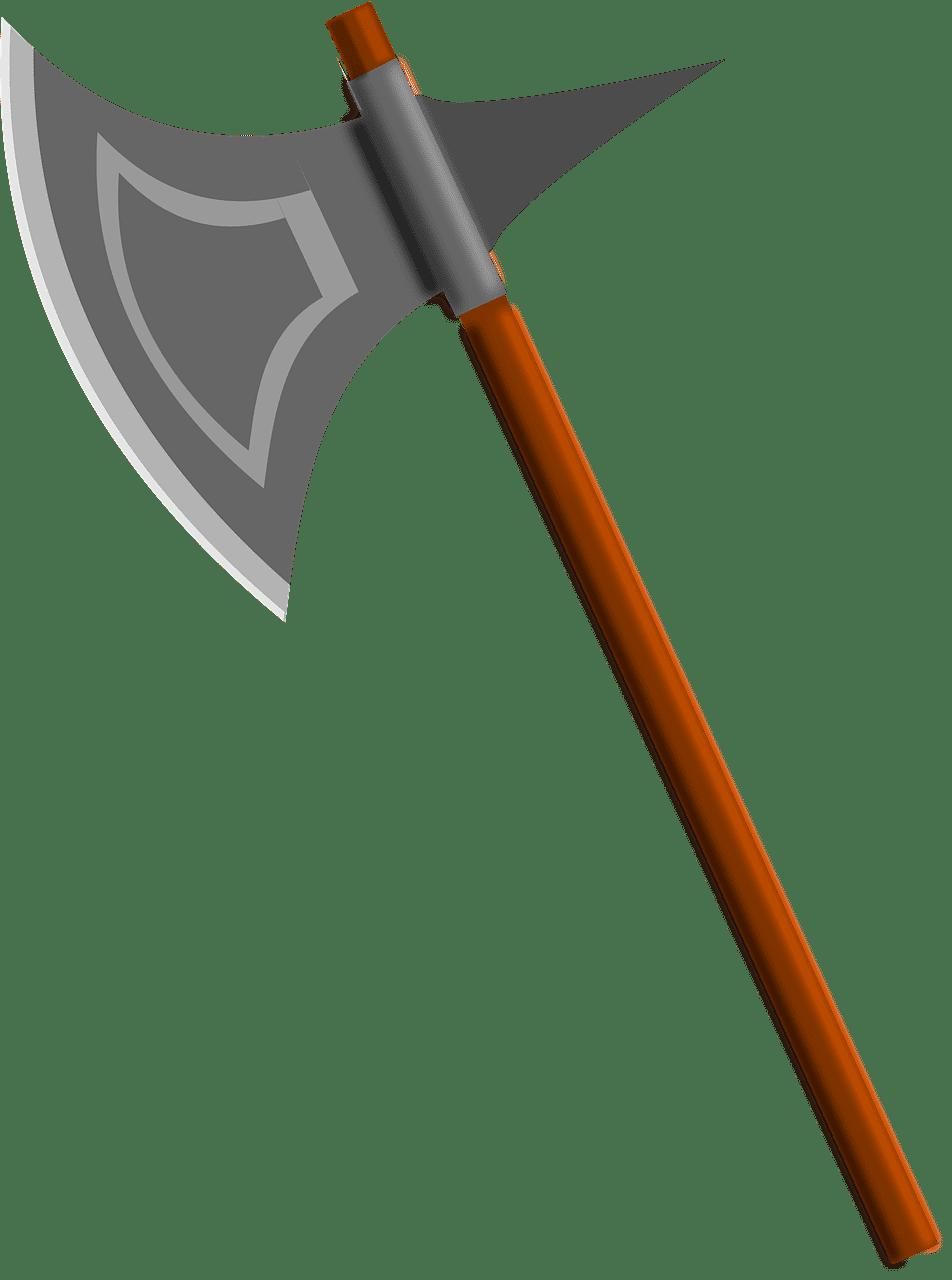 Battle Axe clipart transparent image
