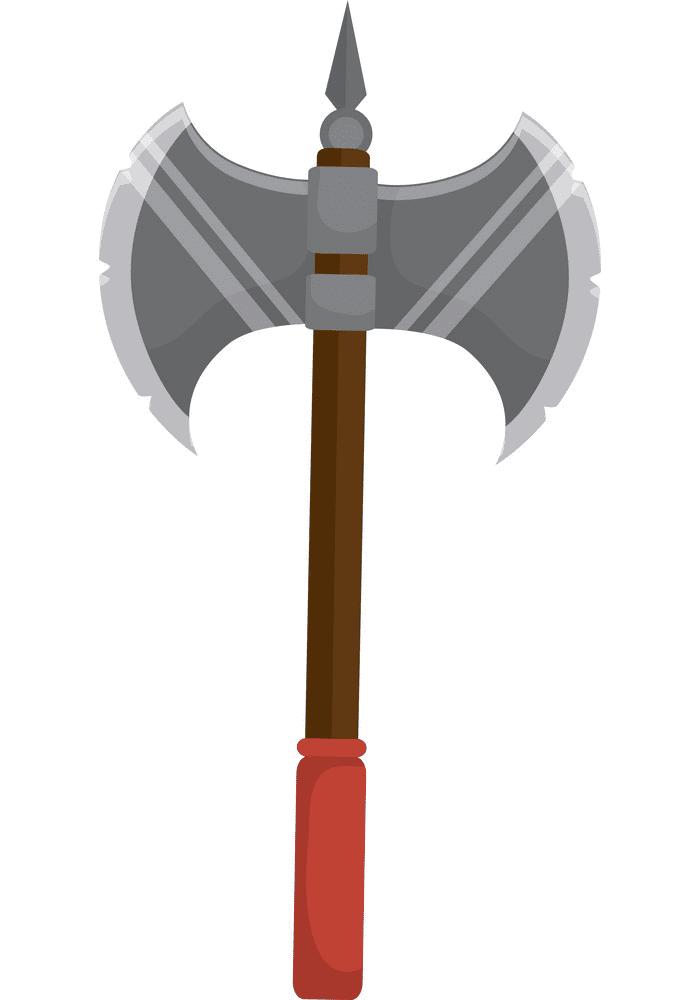 Battle Axe clipart