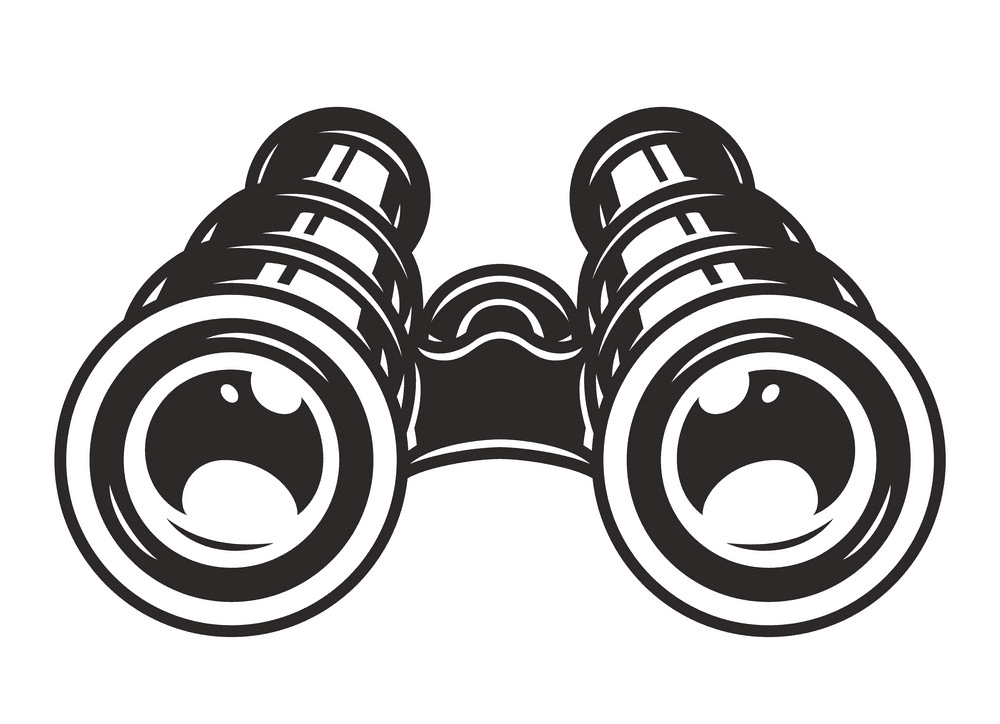 Binoculars clipart 1