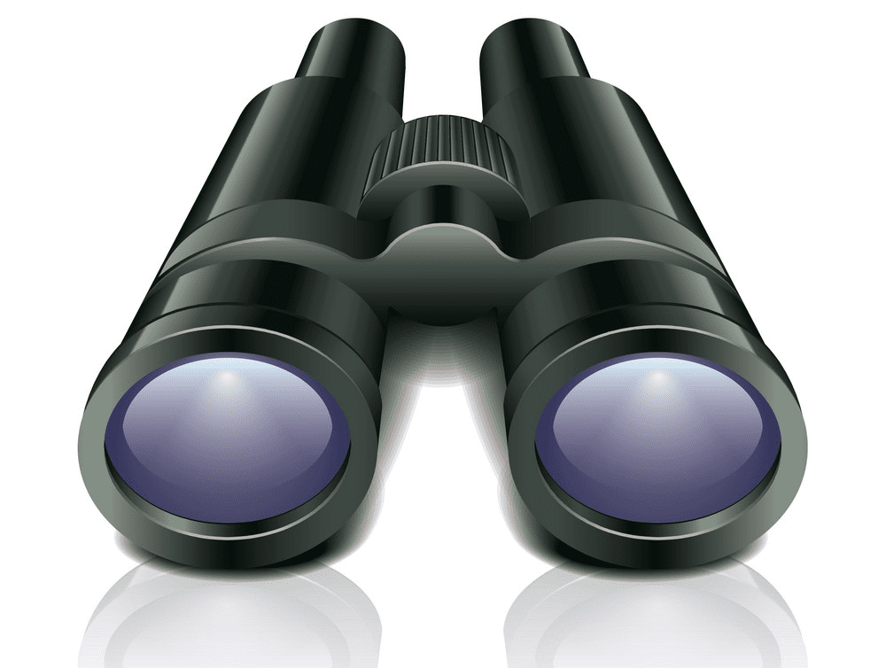 Binoculars clipart 2