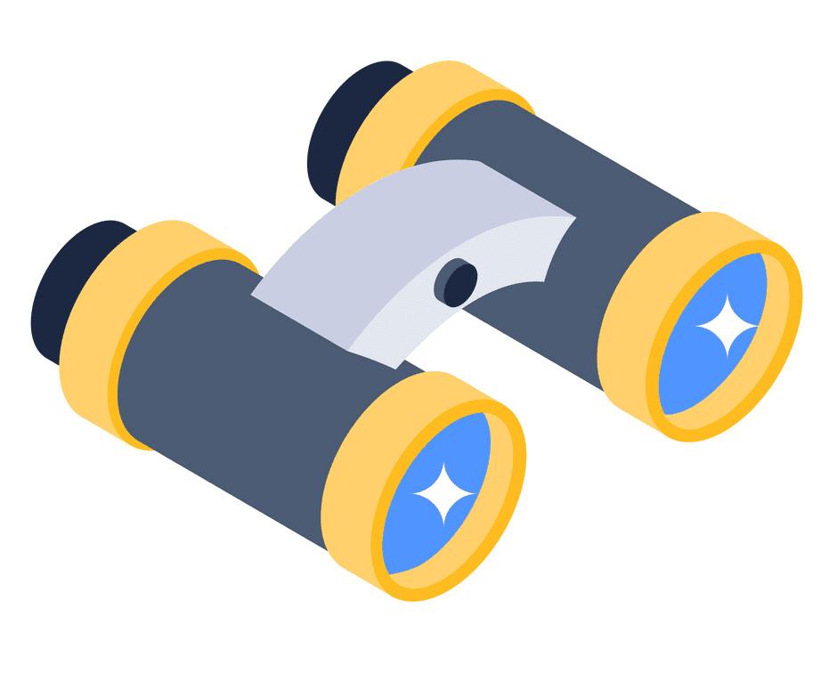 Binoculars clipart 3