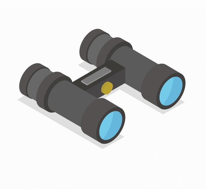 Binoculars clipart 5