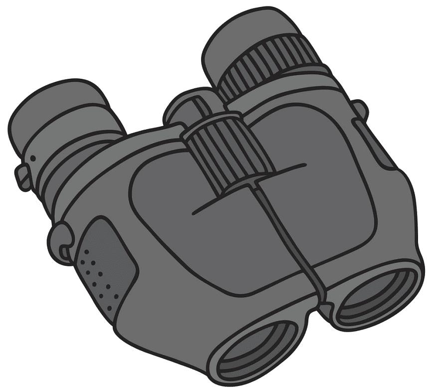 Binoculars clipart 6