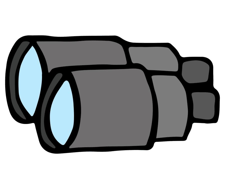 Binoculars clipart 7