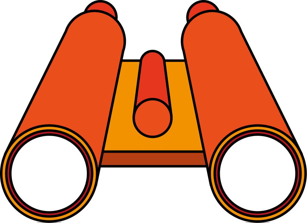 Binoculars clipart 8
