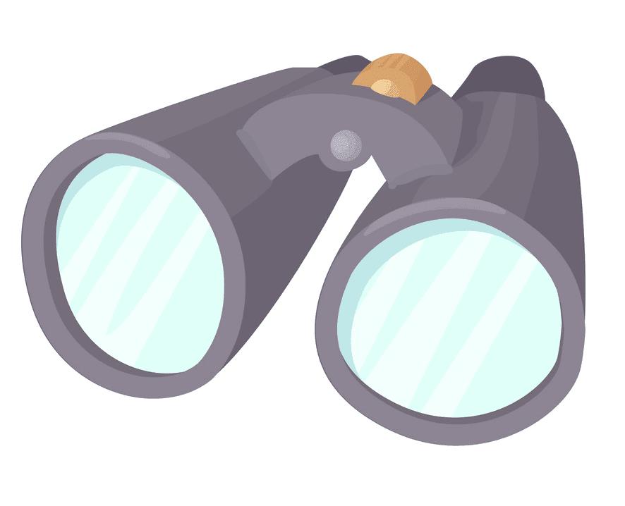 Binoculars clipart 9