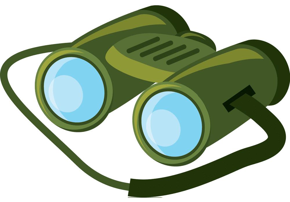 Binoculars clipart free for kid