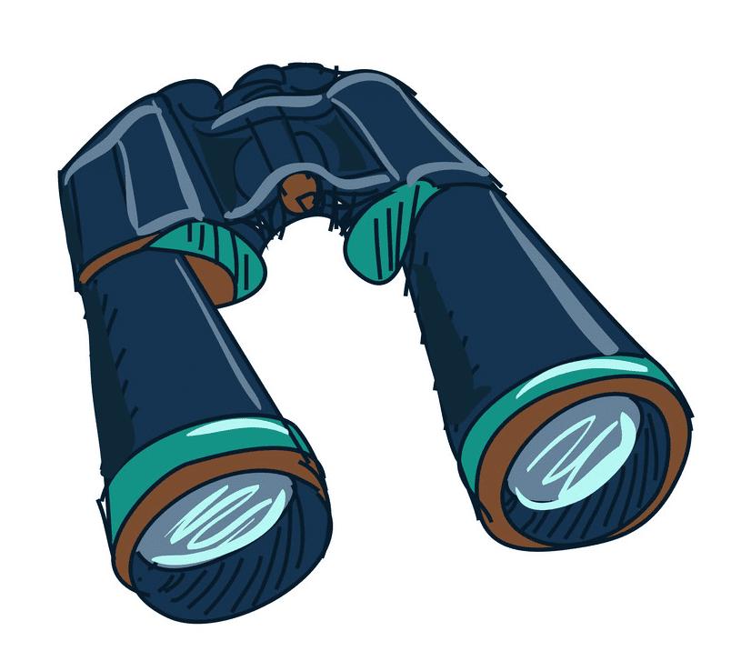 Binoculars clipart free for kids