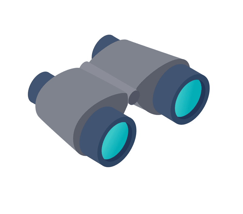 Binoculars clipart free picture