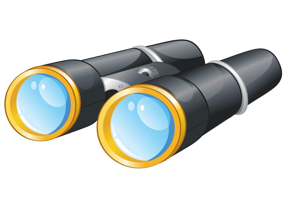 Binoculars clipart free