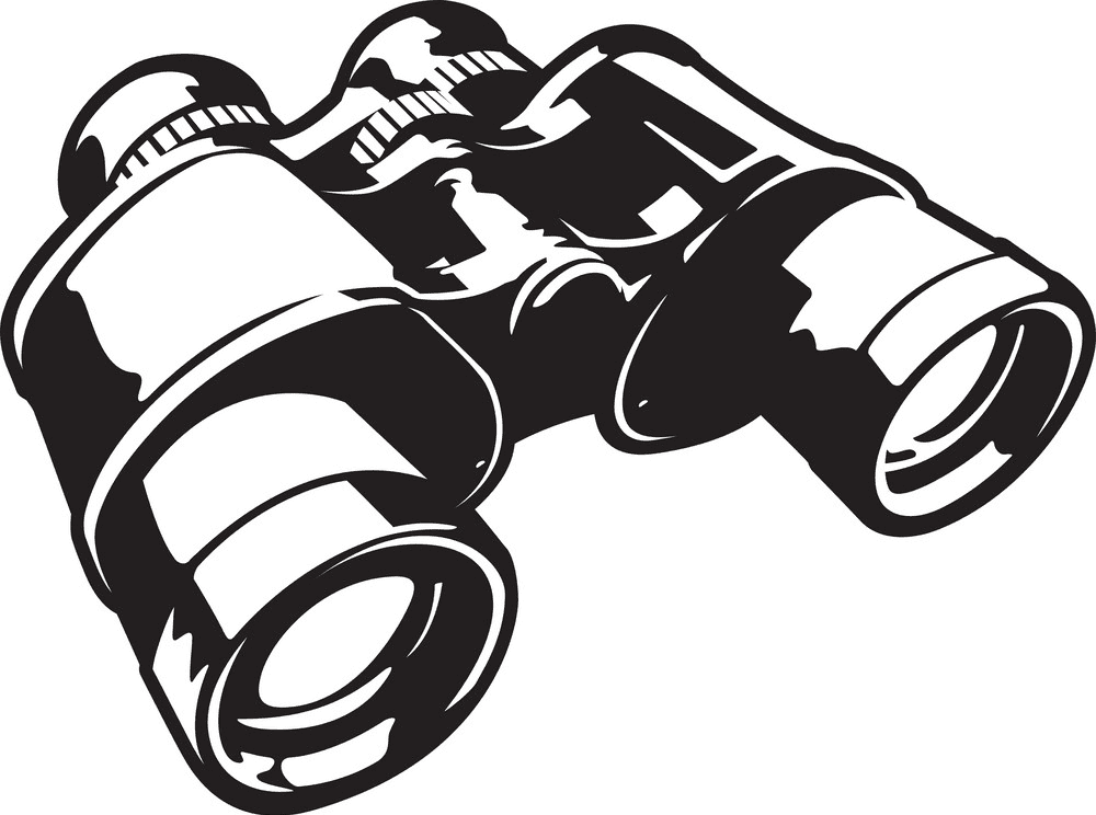 Binoculars clipart image