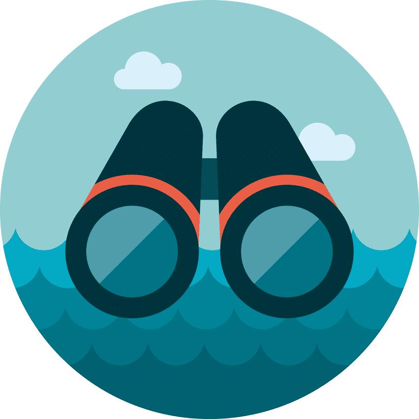 Binoculars clipart images