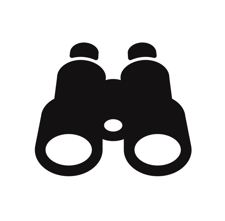 Binoculars clipart picture