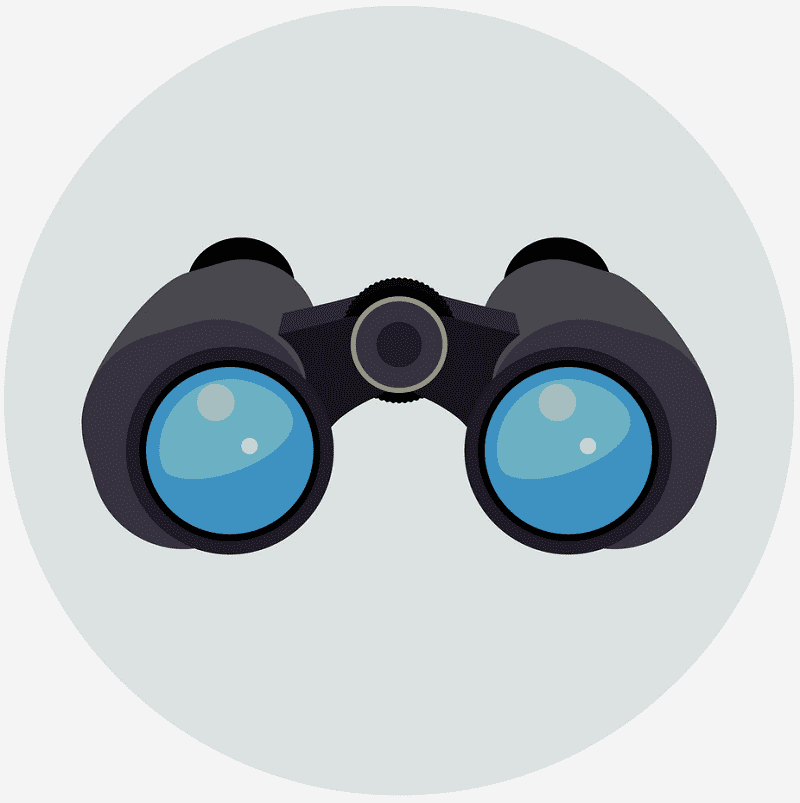 Binoculars clipart png 3