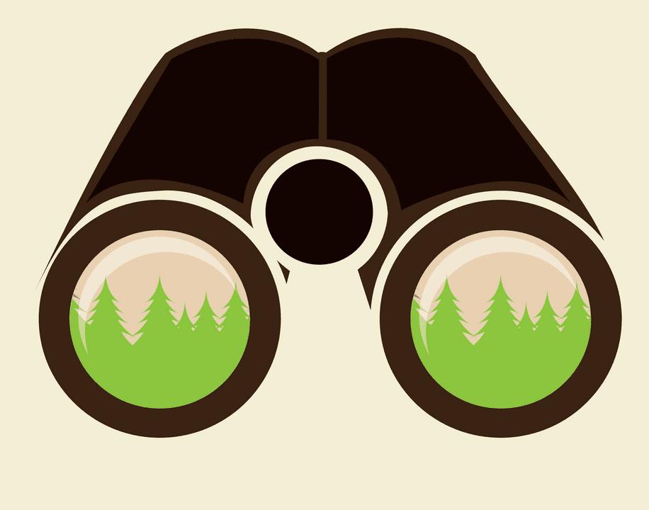Binoculars clipart png image