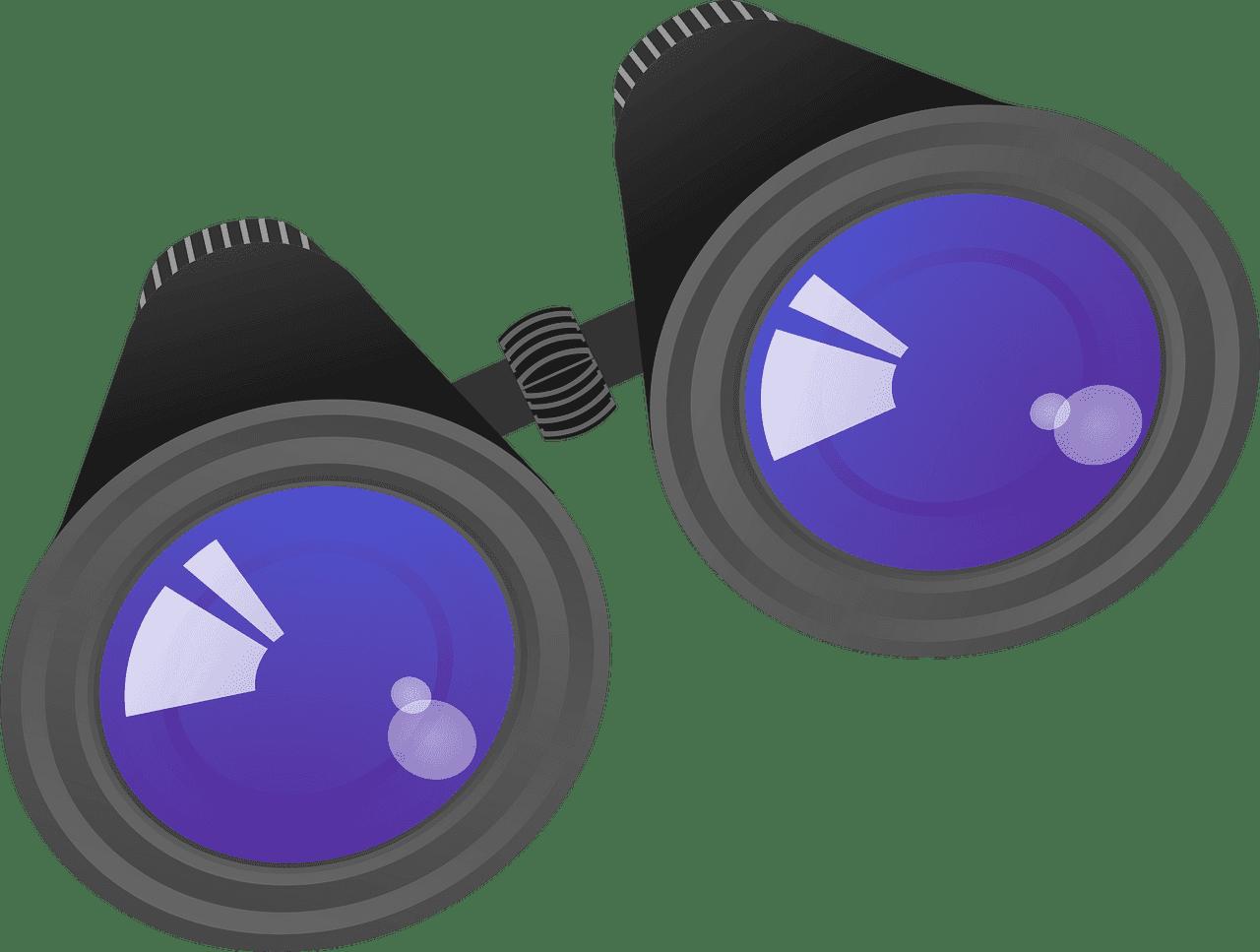 Binoculars clipart transparent 1