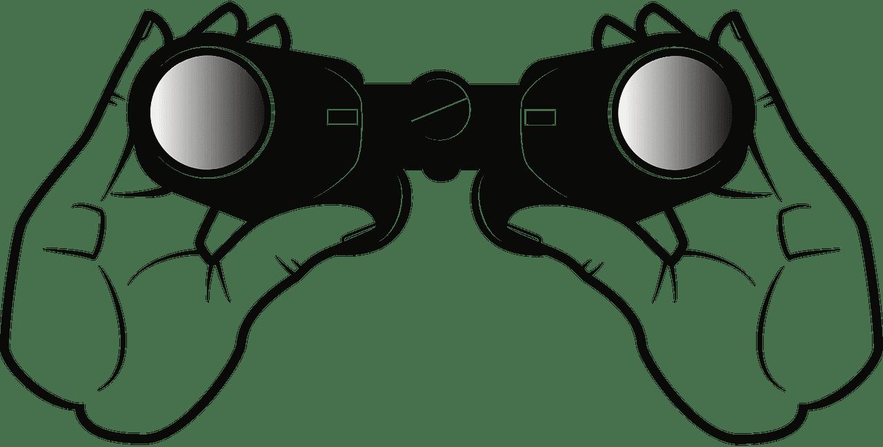Binoculars clipart transparent 10