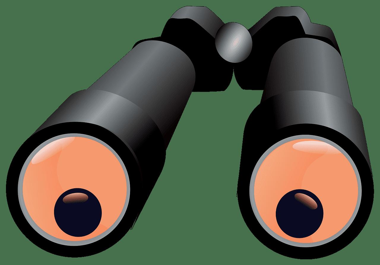 Binoculars clipart transparent 2