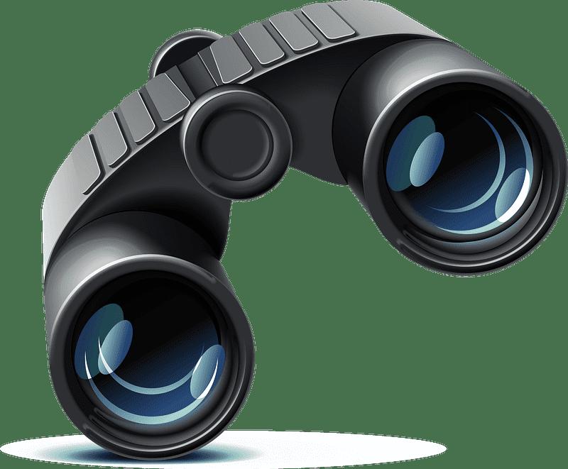 Binoculars clipart transparent 3