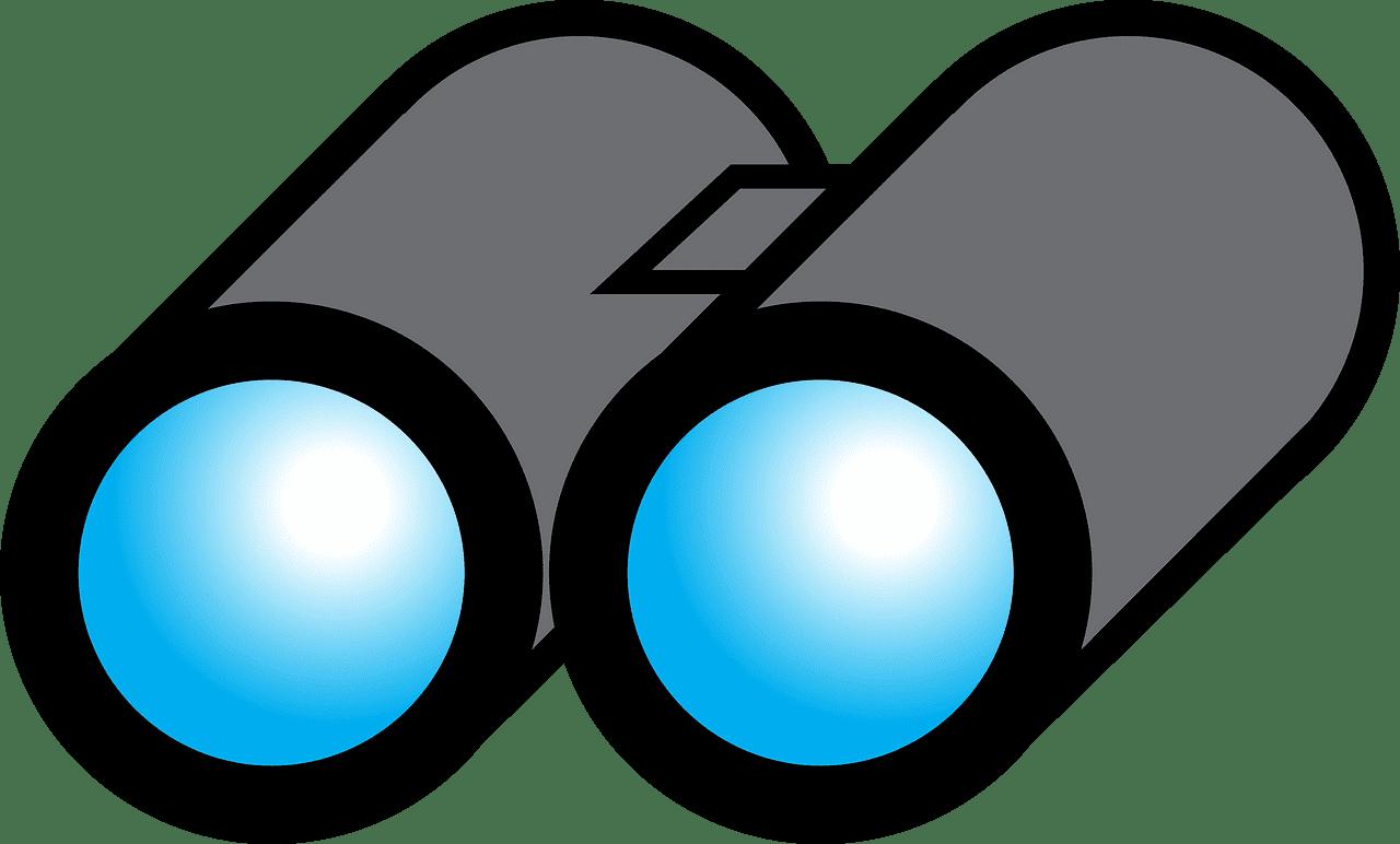 Binoculars clipart transparent 4