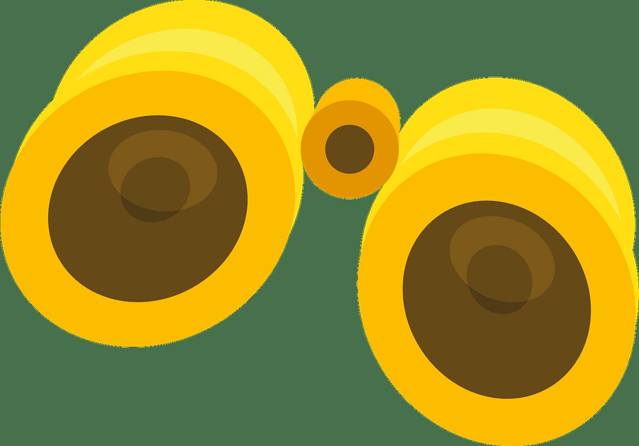 Binoculars clipart transparent 7