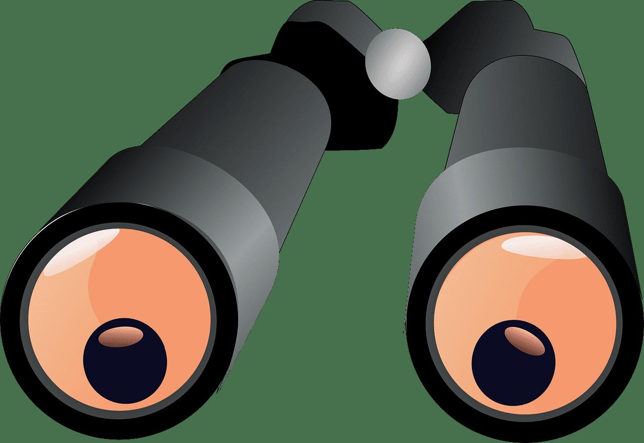 Binoculars clipart transparent 8