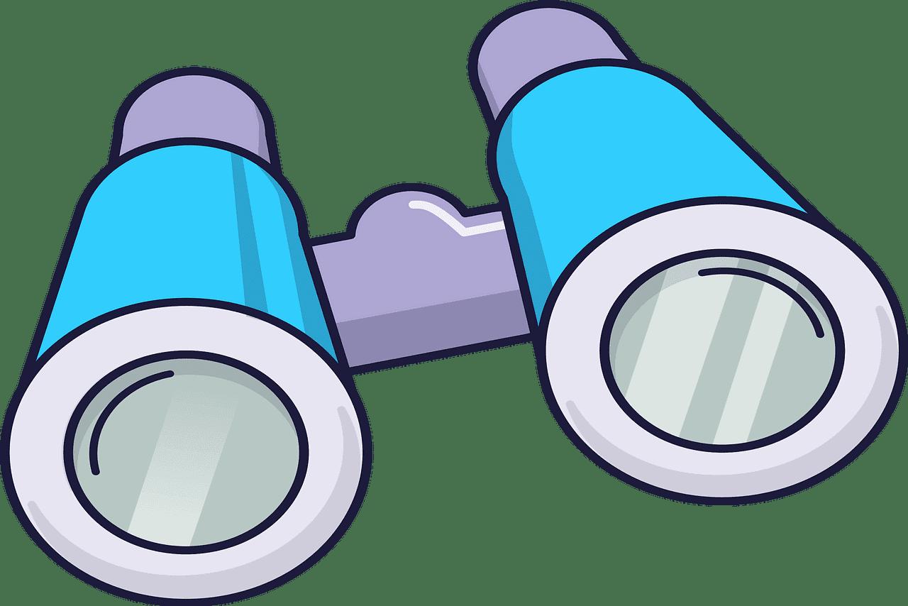Binoculars clipart transparent 9