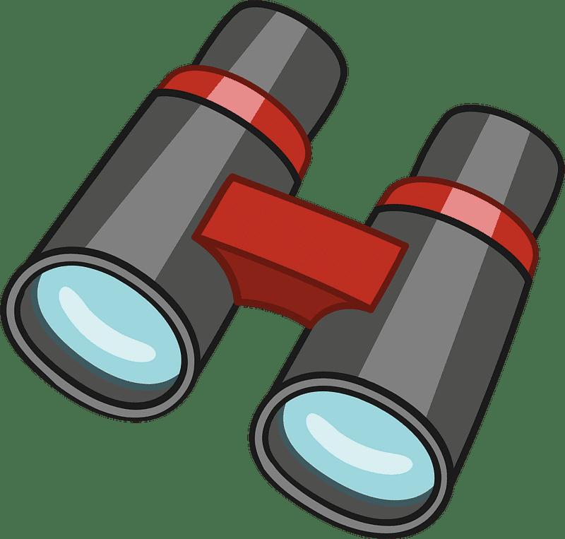 Binoculars clipart transparent free