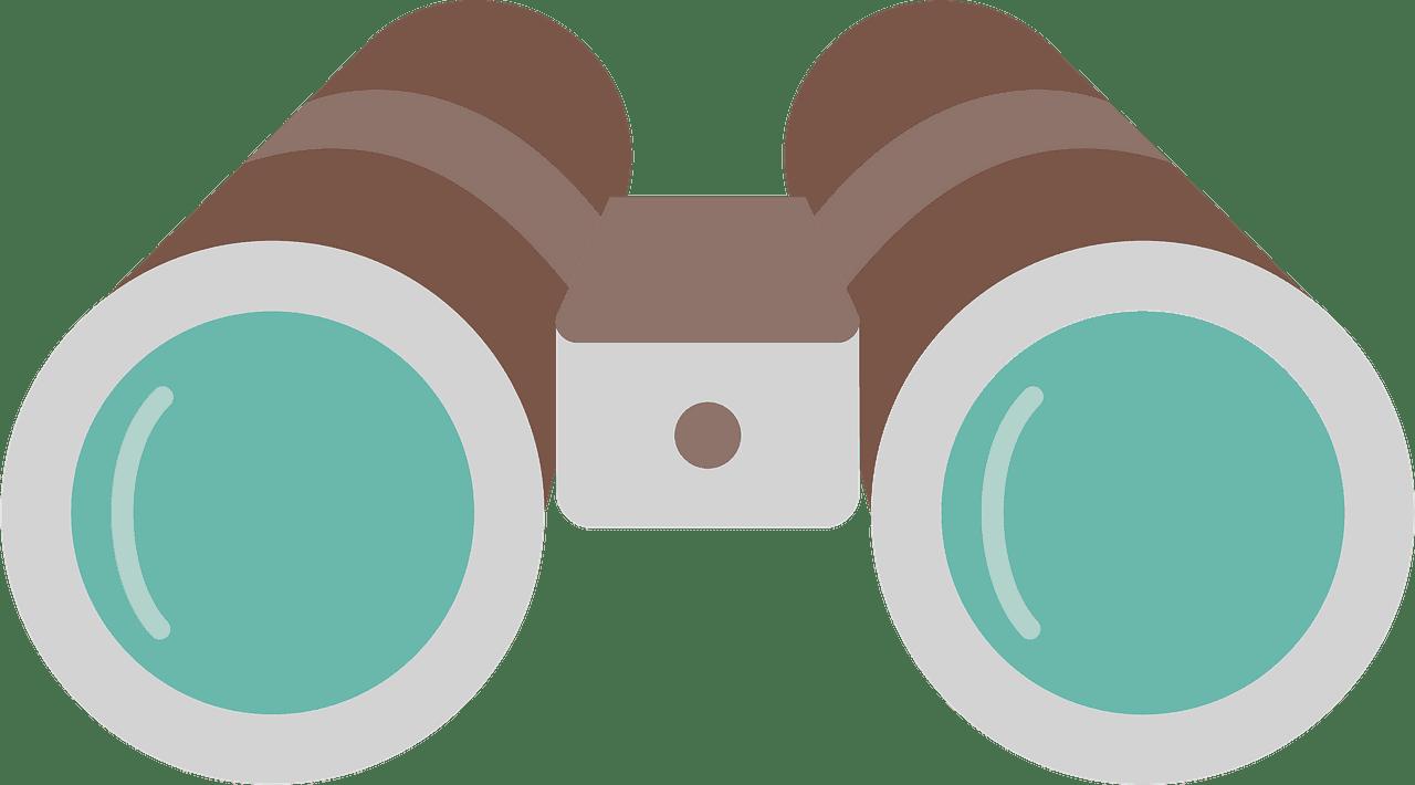 Binoculars clipart transparent images