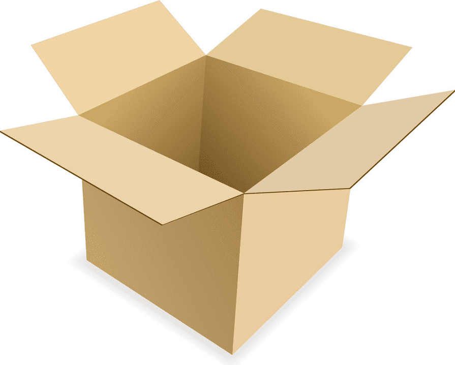Box clipart for free