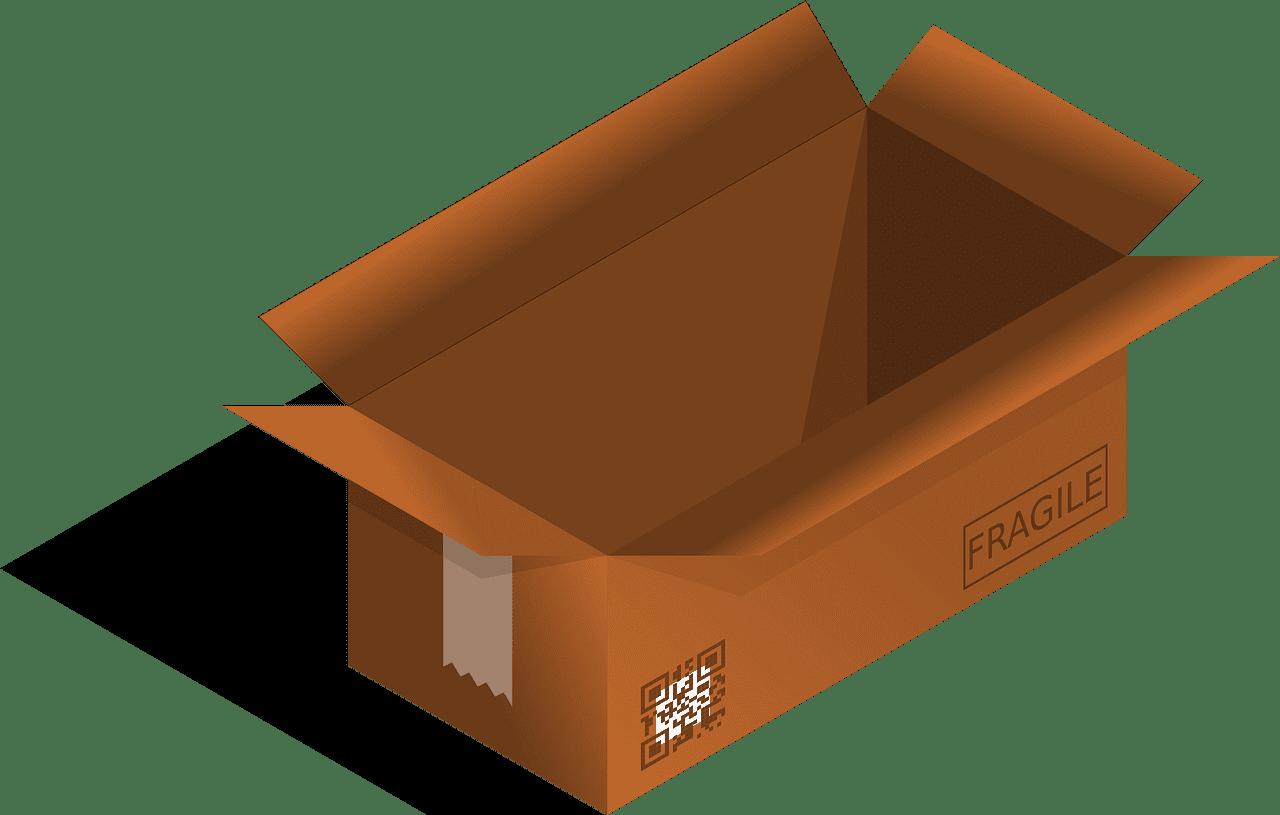 Box clipart transparent 10