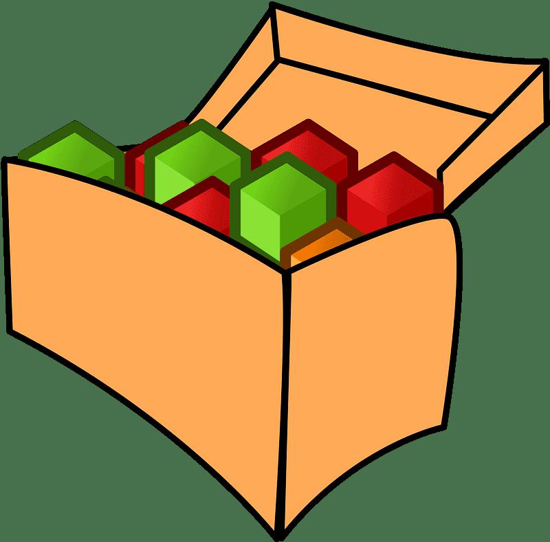 Box clipart transparent 14