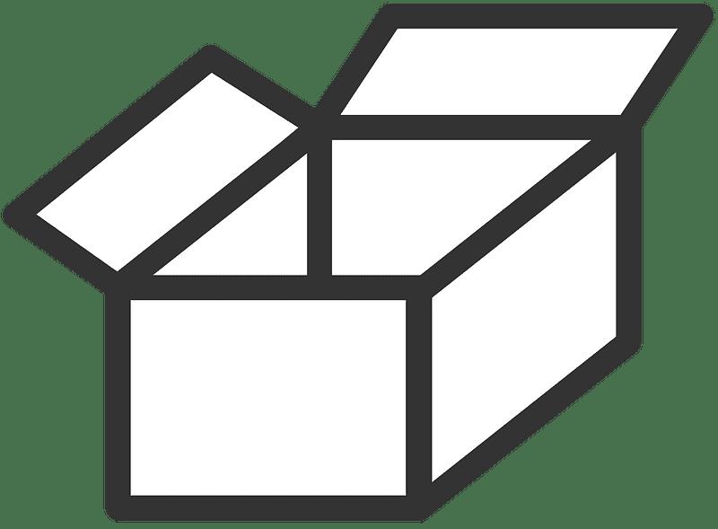 Box clipart transparent 15