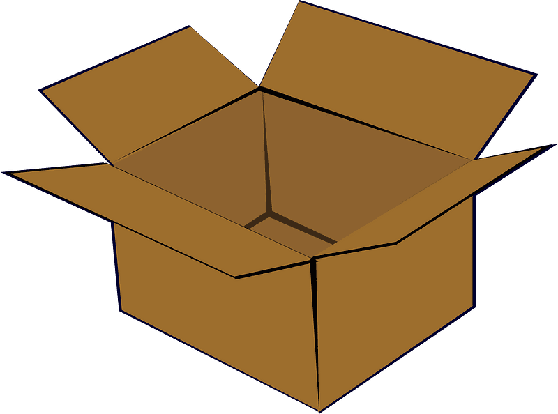 Box clipart transparent 5